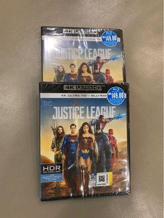 Brand New & Sealed Justice League 4K UHD + Bluray