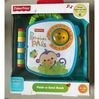 Fisher Price Peek A Boo Book