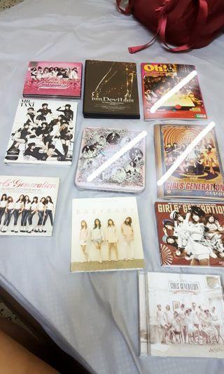 SNSD Girls Generation Album Cheap Sell