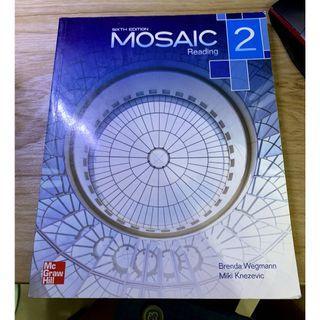 Mosaic 2 (Reading) 第六版 二手 英文用書