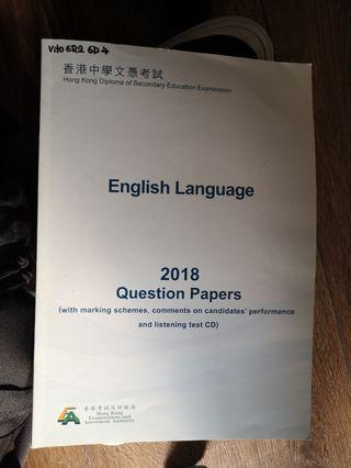English 2018 DSE Question Papers
