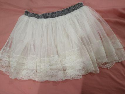 🆕 LACE skirt