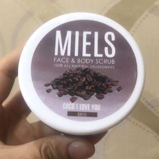Miels coffee scrub