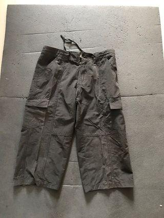Free Cargo Bermuda pant for boys (cover knees)draw string