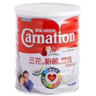【現貨】Nestle Carnation Omega High Calcium Milk Powder 雀巢 三花 栢齡 健心 高鈣 較低脂 奶粉 800g