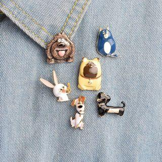 bnip secret life of pets enamel pin badge