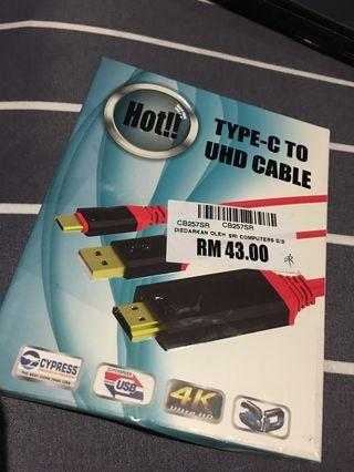 Valore Type C to HDMI Cable with SMART POWER CHARGER