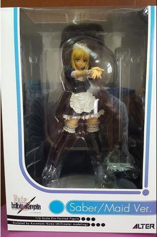 玩具出清 Alter Fate/ Stay Night Fate/Hollow Ataraxia Saber Alter 1/6 Maid Ver. 初版