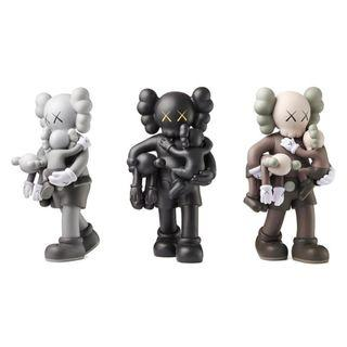 Kaws -CLEAN SLATE 2018 set of three