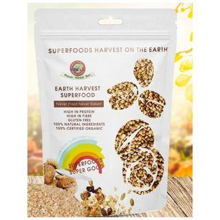 【現貨】Earth Harvest Superfoods Raw & Organic Buckwheat Groats 有機 生機 原粒 蕎麥 無麩質 454g
