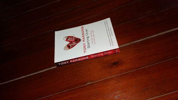 Tony Parsons - Starting Over