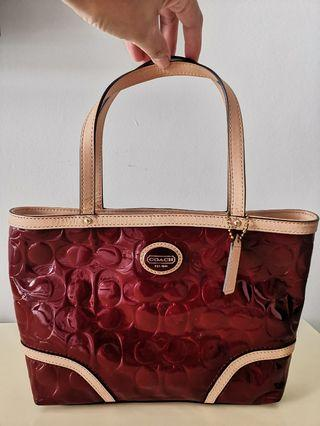 Coach Hand Bag Authentic