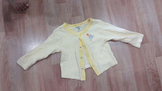 Baby Sweater - Yellow Stripes