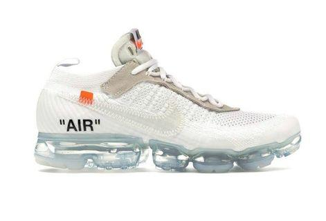 "NIKE THE 10: AIR VAPORMAX FK ""OFF WHITE"" 全新 8.5"