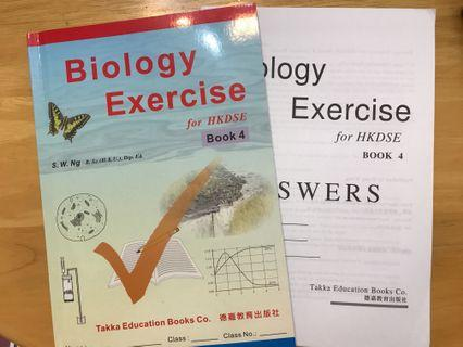 Biology exercise with answer book
