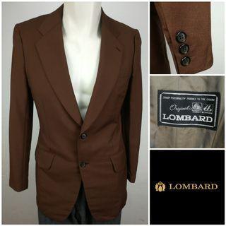 LOMBARD Single Breasted Jacket Blazer