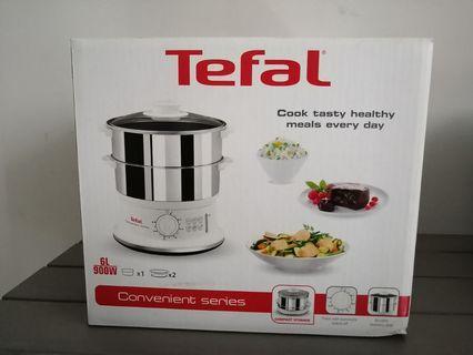 Tefal stainless Steel food steamer
