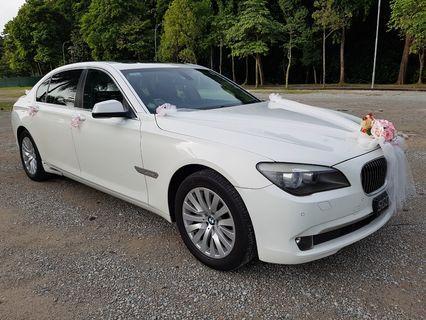 Wedding / Bridal / ROM Car Rental (with driver)