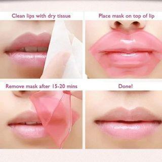 Bioaqua collagen nourish lips,masker bibir