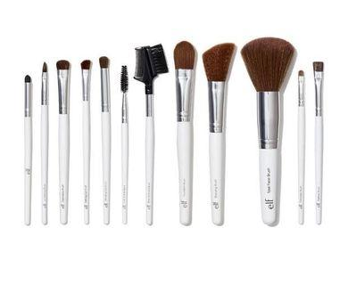 Make Up Brushes elf 12 pcs NEW brush set
