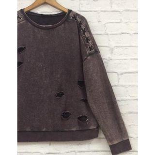 Sweater Brown Wash