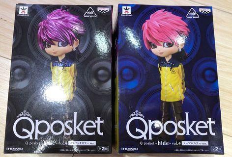 Qposket Hide Vol.4 A色 & B色