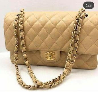 100% Authentic Chanel Caviar Double Flap