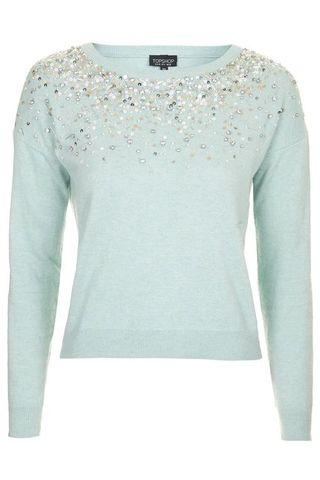 Topshop Mint Sweater