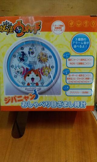 全新日本帶回妖怪手錶鬧鐘