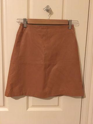 Kookai tan New Jersey skirt 34