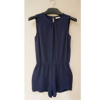 NEW Navy Blue Short Jumpsuit
