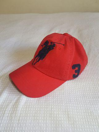 Ralph Lauren Polo Sport Red Cap