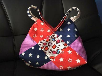 🚚 Patchwork Handbag