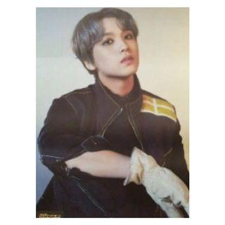 NCT 127 We Are Superhuman Album - Haechan Poster