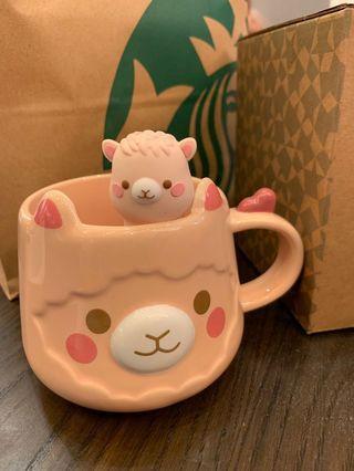 Starbucks Alpaca Tea Cup