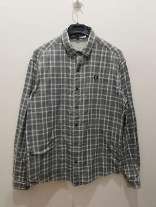 Fred Perry Reversible Plain n Plain Oxford
