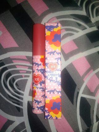 3ce maison kitsune velvet lip tint ( strawberry delight )