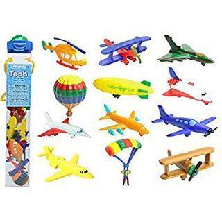 🚚 🦕Safari Ltd. 飛機✈️模型(一套12件,12 pcs a pack)