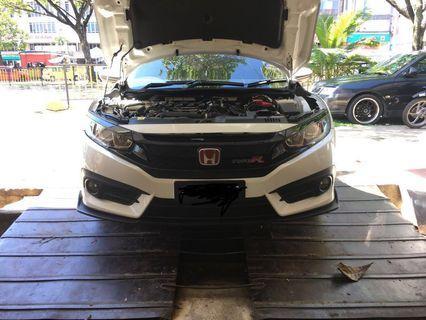Honda Civic 1.5TC Original Front Bumper