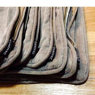 High Quality! 4 CUSHION COVERS Dark Grey (Without Inlets)