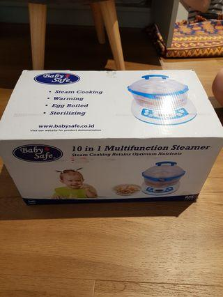 Babysafe 10 in 1 multifunction sterilizer steamer
