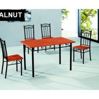 Free Delivery - Okura Dining Table with 4 Chairs Home Living