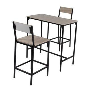 Free Delivery - OKURA DINING / BAR TABLE & 2 CHAIR