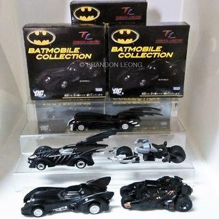 Tomica Limited (TL) Batmobile Collection (Set of 5)