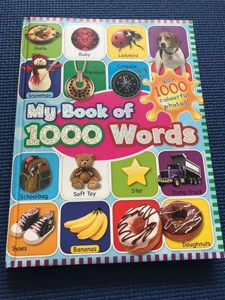 🚚 My book of 1000 words