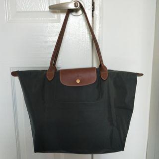 Longchamp Bag (Gun Metal colour)