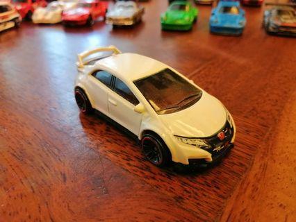 Honda Civic Type-R White Mattel Hot Wheels Hotwheels Car #MGAG101