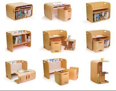 日本兒童成長桌椅 Colo Colo Chair & Desk