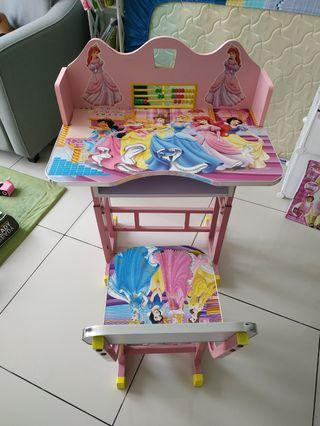 Princess Study Table