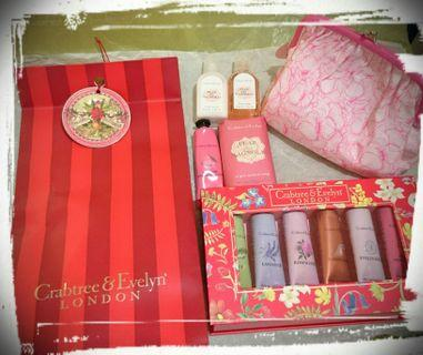 Crabtree & Evelyn Hand Therapy & Body Gift Set
